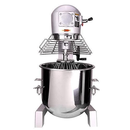Orion Motor Tech Mélangeur Patisseire de Pâte, Pétrin Professionnel, Robot de Cuisine à 3 Vitesses, Pétrin à Planétaire, Machine pour Mélanger et Pétrir, Robot Mixeur Multifonctions (30L)