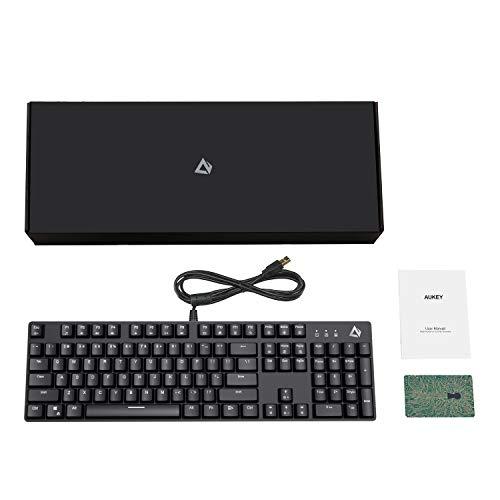 AUKEY KM-G12 RGB Wired Gaming Keyboard