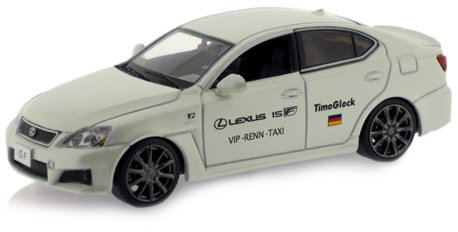 IXO J-Collection JC095 - Lexus IS-F Nürburgring Taxi Timo Glock Version 2009