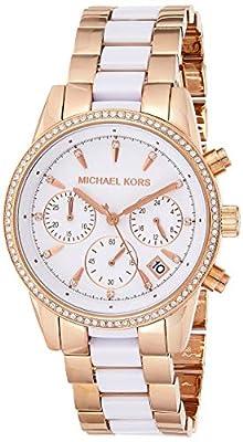 Michael Kors Watches Ritz acetato Chrono Reloj de Michael Kors Watches