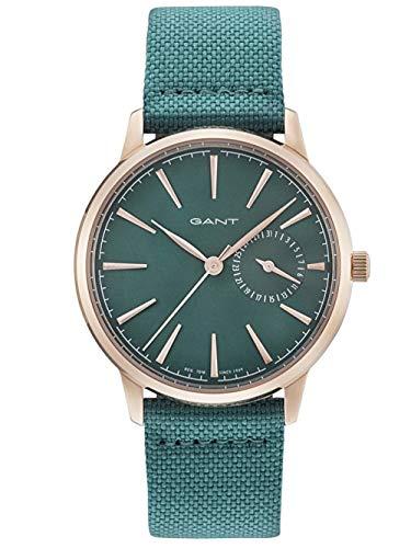 Gant Reloj Analógico para Mujer de Cuarzo con Correa en Cuero 7630043917039