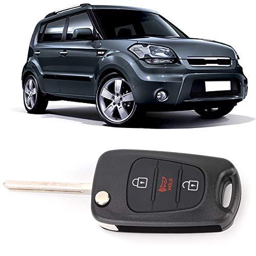 Arrancadores remotos para automóviles, arranque remoto, 3 botones para KIA Soul 2012 2013 Men Key Car