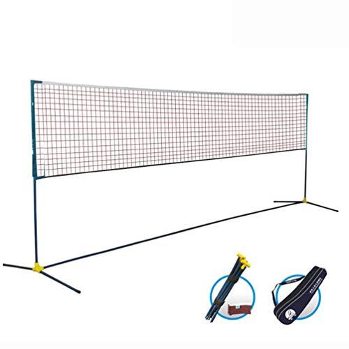 Portable Tennis Net, Badminton, Tennis, Volleyball, Pickleball Net, Net and Frame Driveway, Indoor, Outdoor, Beach, Street, Backyard Setup Collapsible