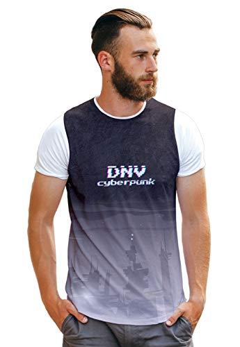 Camiseta Cyber Eletronic City Night