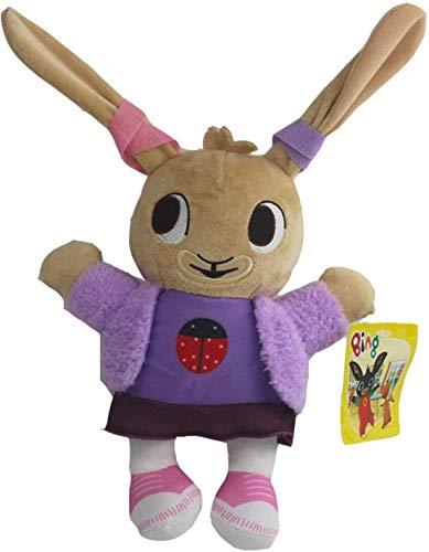 Yppss Bing Bunny Peluche Coniglio Sula Flop Hoppity Pando Farcito Bambola Bambini Giocattolo Regali Bing 3521 Coniglietto Morbido Giocattolo eterno