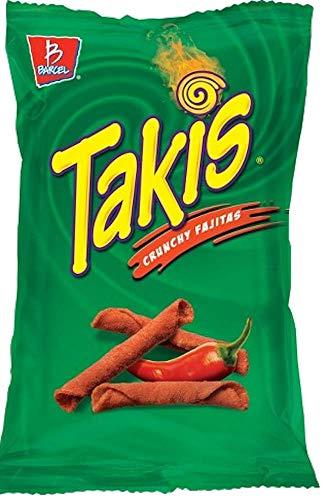 NEW Takis Crunch Fajitas/ Takis Wild Spicy Buffalo Net Wt 9.9 Oz (Crunchy Fajitas, 1)