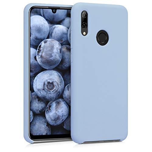 kwmobile Cover Compatibile con Huawei P Smart (2019) - Custodia in Silicone TPU - Back Case Protezione Cellulare Blu Chiaro Matt