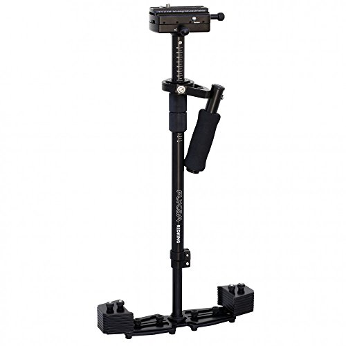 FLYCAM Redking 32'/ 81 centimetri professionale DSLR fotocamera palmare Steadycam dello stabilizzatore, coda di rondine Quick Release e marcatura Scala, Payload 7kg + Storage Bag (FLCM-RK)