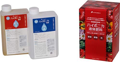 協和ハイポニカ 協和 レッド ハイポニカ液体肥料 1L(A・Bセット) KJA002