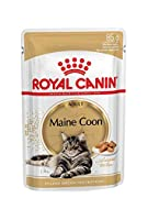12 x 85g Pouch Royal Canin Wet Breed Maine Coon Adult Cat Supplied by Maltby's UK
