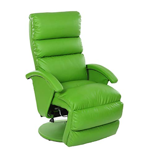 YUYTIN Recliner Chair Accent Chair for Living Room-Manual Push Back Recliner Chairs Home Office Chair Ergonomic Desk Chair Mesh Computer Chair,B