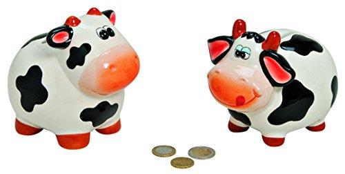 1 x Spardose ,Sparschwein, Sparbüchse Kuh aus Keramik