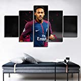 SSYYJJ Auf Leinwand-drucke Wandkunst 5 Stück Paris