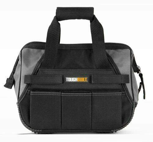 TOUGHBUILT 13 Inch Tool Bag 40 Compartments and Loops Tool Storage Tool Box Heavy Duty