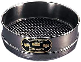 Newark Wire 0301682#200 Full U.S. Standard Stainless Steel Soldered Sieve Const, 75 um, 8""