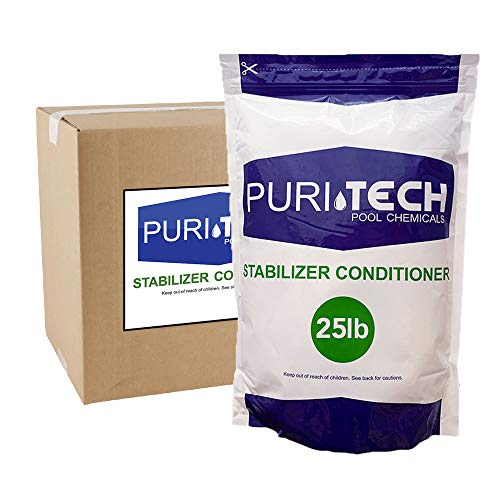 PuriTech Cyanuric Acid for Pools – 25 lbs.