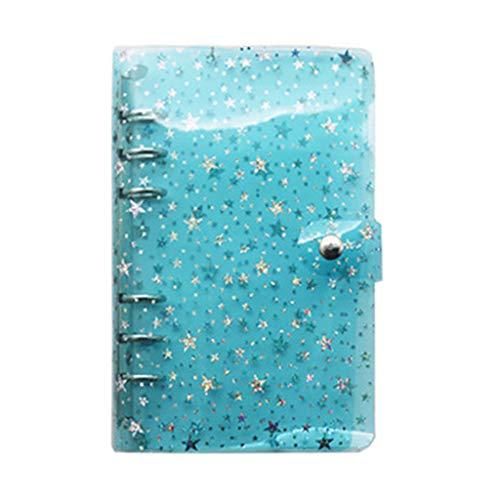 A5 A6 Star - Carpeta de hojas sueltas para cuadernos de oficina