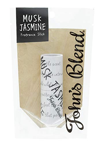ノルコーポレーション John's Blend 練り香水 フレグランススティック OZ-JOD-3-4 ムスクジャスミンの香り 3.5g