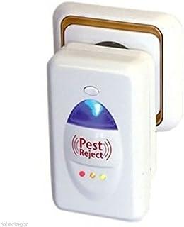 comprar comparacion Set de 4 Pest Reject: ahuyenta mosquitos, insectos, roedores, moscas, arañas, ratones con ultrasonidos