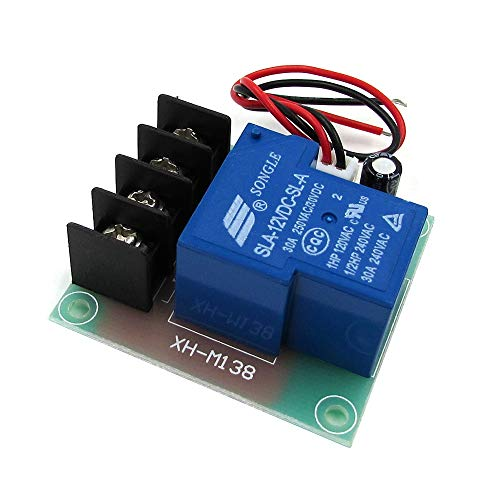 GuoQiang Zhou 30A Hochstrom-Schalter/Relais-Adapter, 12 V Gleichstrom, Eingang des Schalters, 30 A