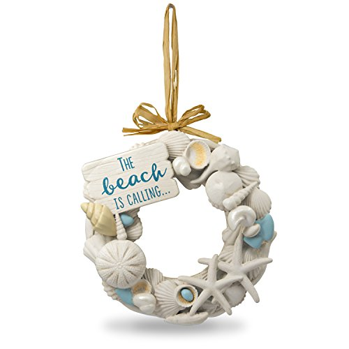 Hallmark Keepsake Christmas Ornament 2018 Year Dated, Seashells A Day at the Beach