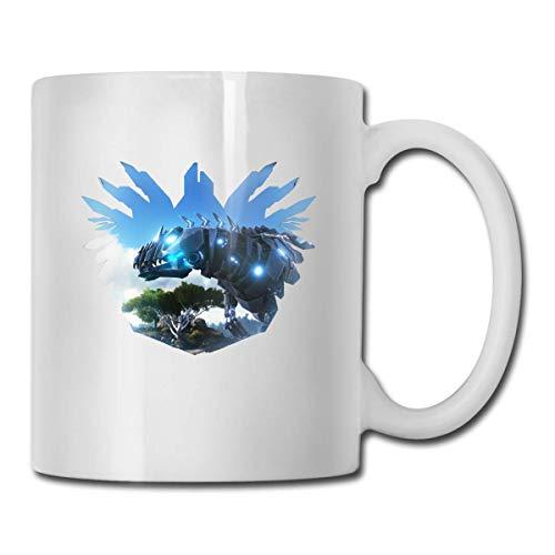 DHGER ARK Survival Evolved Keramik Kaffeetasse Teetasse für Büro und Zuhause