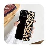 Hopereo Coque léopard en TPU pour Huawei P30 P20 P40 Mate 10 20 Lite Pro Y6P Y8P Y6 Y7 Y9 P Smart...