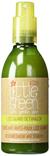 Little Green Lice Guard Detangler Spray. Clinically Proven 95% effective in repelling head lice. Sulfate Free,Paraben Free, Gluten Free. Not tested on animals, 8 Fl Oz