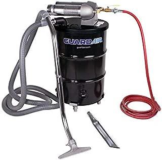 Guardair Pneumatic Vacuum N552BC 55 Gallon Drum Complete Kit with Dual Venturi Head, 2-Inch Hose and Tools
