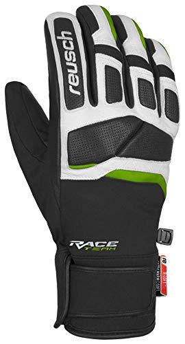 Reusch Mastery Handschuhe, Black/White/Neon Green, 8.5