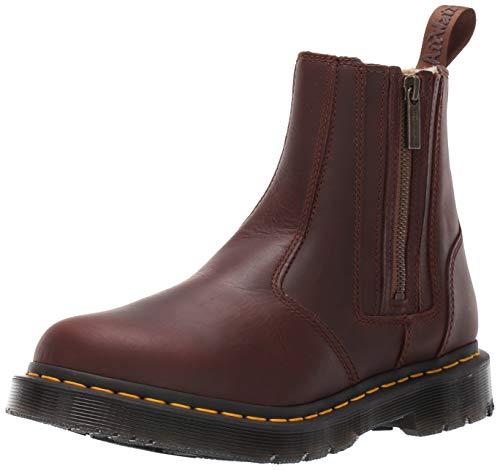 Dr. Martens 2976 Boot Alyson W/Zips Dark Brown