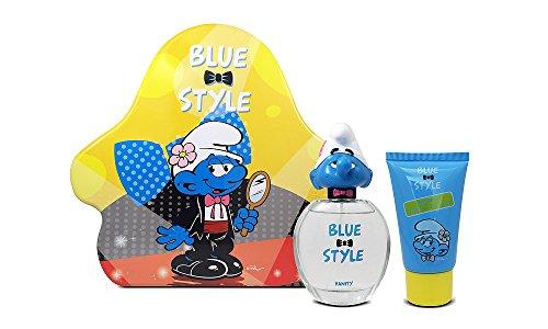 The Smurfs Vanity 3D Eau de toilette 50 ml et gel douche 75 ml Coffret cadeau pour enfants