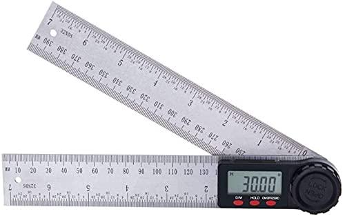 TXXM Regla de ángulo de visualización digital regla de ángulo de la pantalla de la pantalla de la pantalla de la pantalla digital regla de la regla del ángulo de la madera del ángulo del ángulo del re