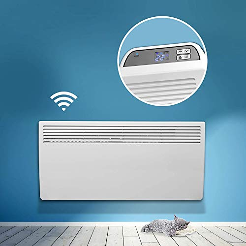 Devola Eco Wi-FI Enabled Electric Panel Heater With Thermostat Lot 20...