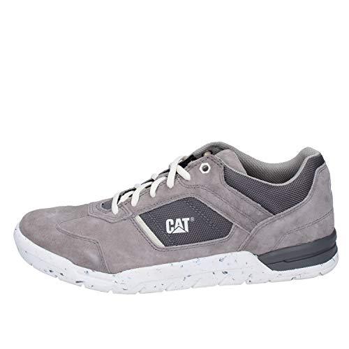 CAT CATERPILLAR Sneaker Uomo Pelle Scamosciata Grigio 40 EU