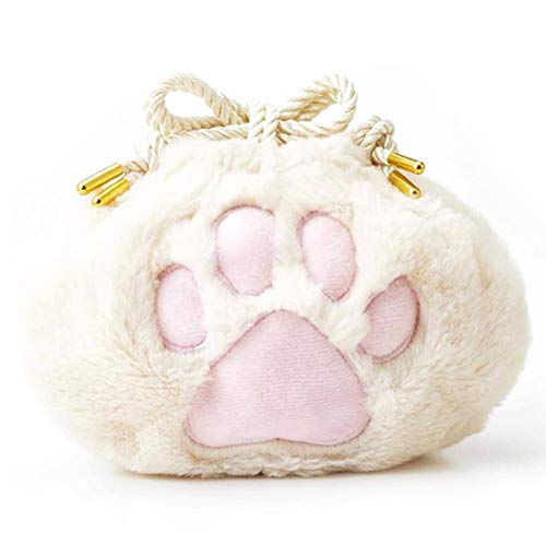 Cute Animal Cat Paw Storage Bag Women Coin Pouch Girl Travel Storage Drawstring Bags Lady Kids Purses Bundle Pocket Festival Gift