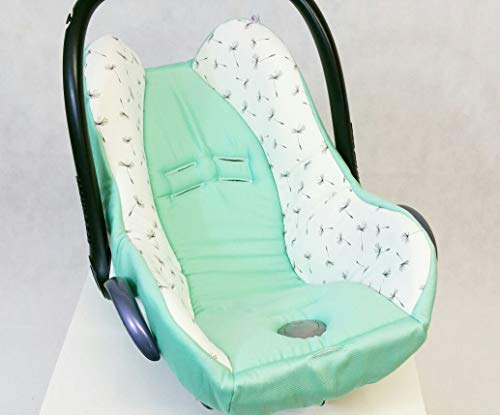 Atelier MiaMia Babyschale Bezug Neu für Maxi Cosi City Pepple Cabrio Fix Priori Pearl Safety One Hauck Zero Recaro Privia Römer King Baby Safe Cybex Anton