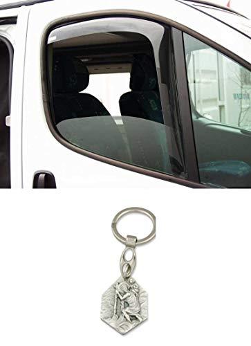 Zisa-Kombi Windabweiser Renault Master/Opel Movano (93298836430) mit Anhänger Hlg. Christophorus