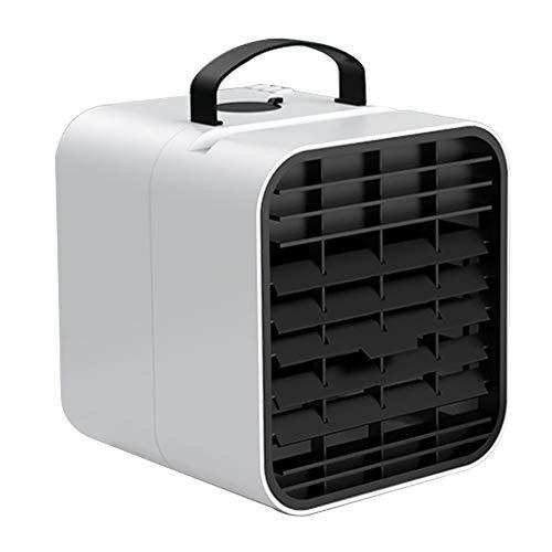 Y-H mini aire acondicionado ventilador mini purificador de aire escritorio móvil portátil humidificador ventilador para oficina en casa dormitorio