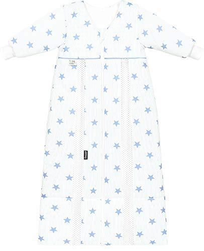 Odenwälder Schlafsack Prima Klima Thinsulate mit Arm stars cool blue 90-110 cm