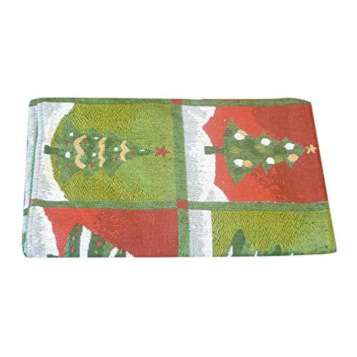 JOOFFF tafelvlag Kerstmis Kerstman sneeuwman kerstboom bedrukt tafelkleed voor eetkamer restaurant party bruiloft