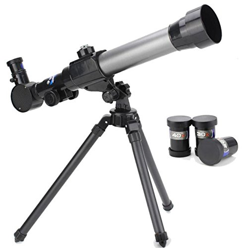 m·kvfa Telescope for Kids Beginners Adults, Children Astronomy Refractor with Tripod, for Christmas and Birthday
