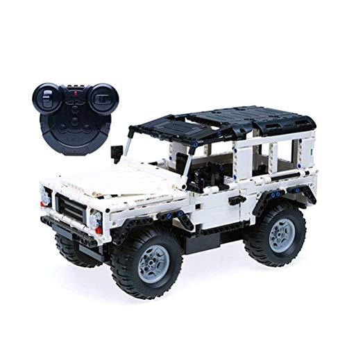 QXF-D Geländewagen Modell Baukastens Block-533pcs Auto-Modell SUV DIY Assembly Building Blocks Pädagogisches Geschenk for Erwachsene Und Kinder für Erwachsene Jugendliche und Kinder