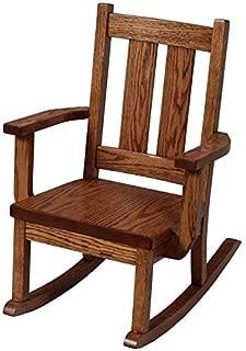 Superior Woodcrafts Amish Aspen Delta Kids' Rocking Chair