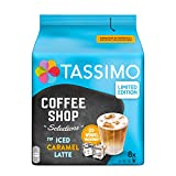 Tassimo Kapseln Coffee Shop Selections, Typ Iced Caramel Latte, 40 Kaffeekapseln, 5er Pack (5 x 8...