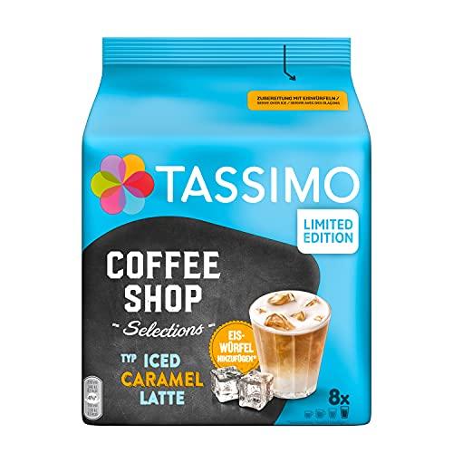 Tassimo Kapseln Coffee Shop Selections, Typ Iced Caramel Latte, 40 Kaffeekapseln, 5er Pack (5 x 8 Getränke) - nur für kurze Zeit verfügbar