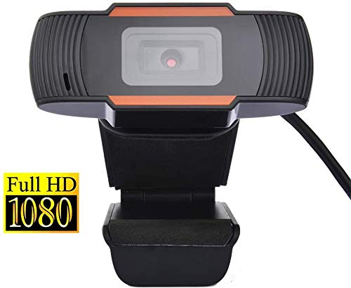 QKDCDB Webcam 1080P Full HD with...