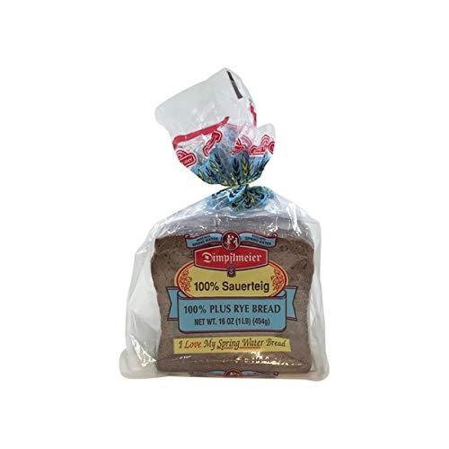 Dimpflmeier 100% Plus Rye Bread, Sauerteig