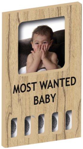 VER B.V. MFF0102 - MyFirst Most Wanted - Bilderrahmen mit Fingerabdruck - naturel