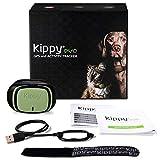 Kippy Evo - Collare GPS per Cani e Gatti con Localizzatore e Rilevatore dell'Attività e dello Stato di Salute - Accessori Cani e Gatti - con Batteria a Lunga Durata e Torcia LED - Verde